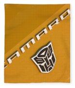 Bumble Bee Logo-7938 Fleece Blanket