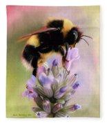 Bumble Bee Fleece Blanket