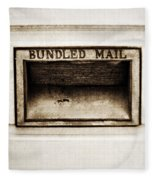 Bundled Mail Fleece Blanket