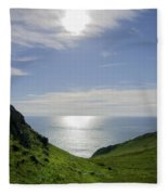 Bunglass - Donegal Ireland Fleece Blanket