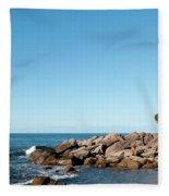 Bunker Bay 02 Fleece Blanket