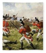 Bunkers Hill, 1775 Fleece Blanket