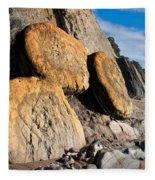 Buns On The Beach Fleece Blanket