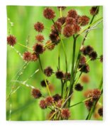 Bur-reed Fleece Blanket