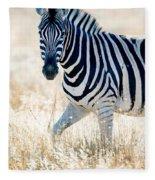 Burchells Zebra Equus Quagga Fleece Blanket