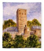 Burg Blankenstein Hattingen Germany Fleece Blanket