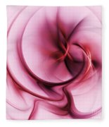 Burgandy Silk Fleece Blanket