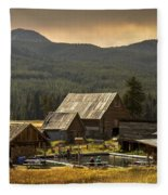 Burgdorf Hot Springs In Idaho Fleece Blanket