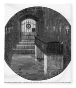 Burial Of Ulysses S Fleece Blanket
