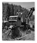 Burke Idaho Logging Truck 2 Fleece Blanket
