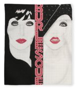 Burlesque Fleece Blanket