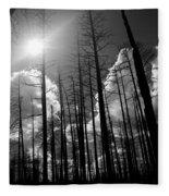 Burn Forest Fleece Blanket