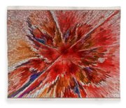 Burning Passion Of Love Fleece Blanket
