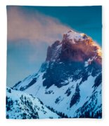 Burning Peak Fleece Blanket