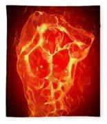 Burning Up  Fleece Blanket
