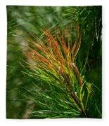 Burnished Pine Fleece Blanket
