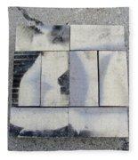 Burnt Brick 1 Fleece Blanket