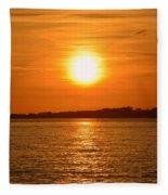 Burnt Orange Fleece Blanket