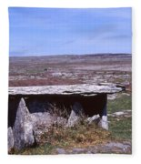 Burren Wedge Tomb Fleece Blanket