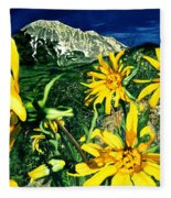Burst Of Summer Fleece Blanket