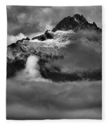 Bursting Thrugh The Clouds Fleece Blanket