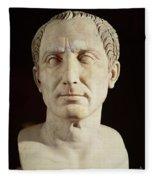Bust Of Julius Caesar Fleece Blanket