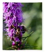 Busy Bees Fleece Blanket