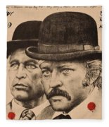 Butch Cassidy And The Sundance Kid Fleece Blanket