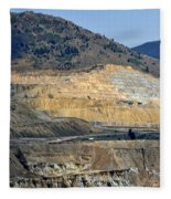 Butte Berkeley Pit Mine Fleece Blanket