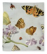 Butterflies Fleece Blanket