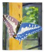Butterfly 1 Fleece Blanket