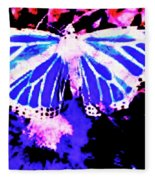 Butterfly 4 Fleece Blanket
