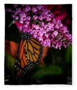 Butterfly 5 Fleece Blanket