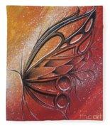 Butterfly 6 Fleece Blanket