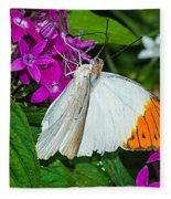 Butterfly 63 Fleece Blanket