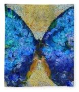 Butterfly Art - D11bb Fleece Blanket