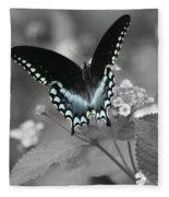 Butterfly Art Fleece Blanket
