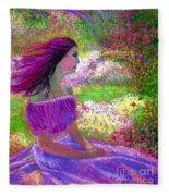 Butterfly Breezes Fleece Blanket
