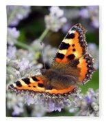 10088 Small Tortoiseshell Butterfly Fleece Blanket