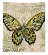 Butterfly Daydreams-a Fleece Blanket