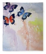 Butterfly Dream Fleece Blanket