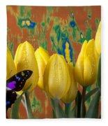 Butterfly Dreams Fleece Blanket