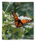 Butterfly Garden - Monarchs 09 Fleece Blanket