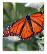 Butterfly Garden - Monarchs 10 Fleece Blanket