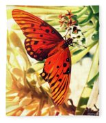 Butterfly II Fleece Blanket