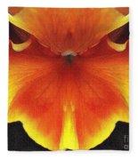 Butterfly Impression Fleece Blanket