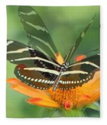 Butterfly In Motion #1967 Fleece Blanket