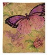 Butterfly Inspirations-d Fleece Blanket