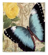 Butterfly Kisses-a Fleece Blanket