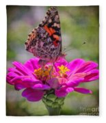Butterfly Kisses Fleece Blanket